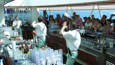 Bartenders Mixing It Up