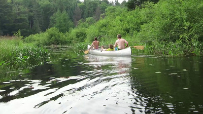 Canoeing on Oxtongue River