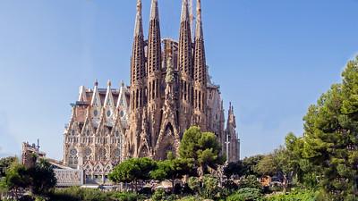 """Sagrada Familia"" in Barcelona"