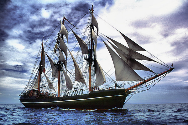 Tall Ship Voyage, Spain to England