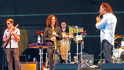 Kenny G and Alexander Zonjic