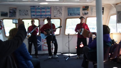 VIDEO - Crew entertaining us on the return to Norris Point, Bonne Bay