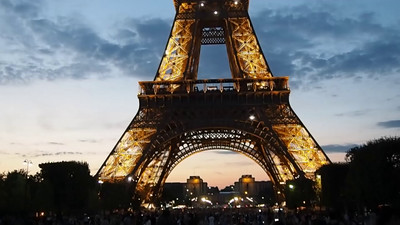 Video - Visiting Eiffel Tower At Night