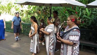Music at Fern Grotto, Kauai