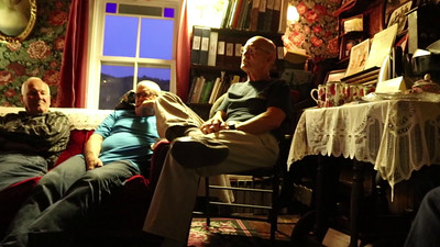 VIDEO - Evening singing and conversation in the parlour